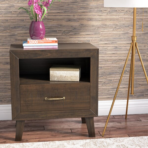 Amelia 1 Drawer Nightstand by Langley Street