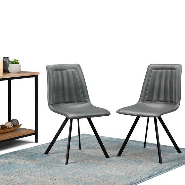 Lamartine Upholstered Dining Chair (Set of 2) by Union Rustic