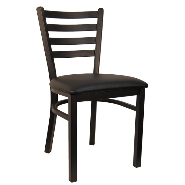 Ladder Upholstered Dining Chair (Set of 2) by H&D Restaurant Supply, Inc.