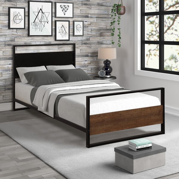 Warrenton Twin Platform Bed by Williston Forge