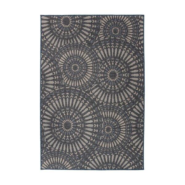 Ghazali Power Loom Dark Gray Rug