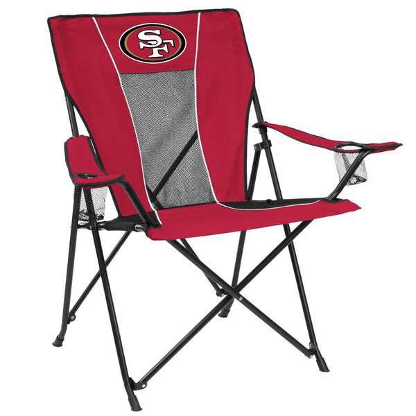 Game Time Folding Camping Chair by Logo Brands Logo Brands