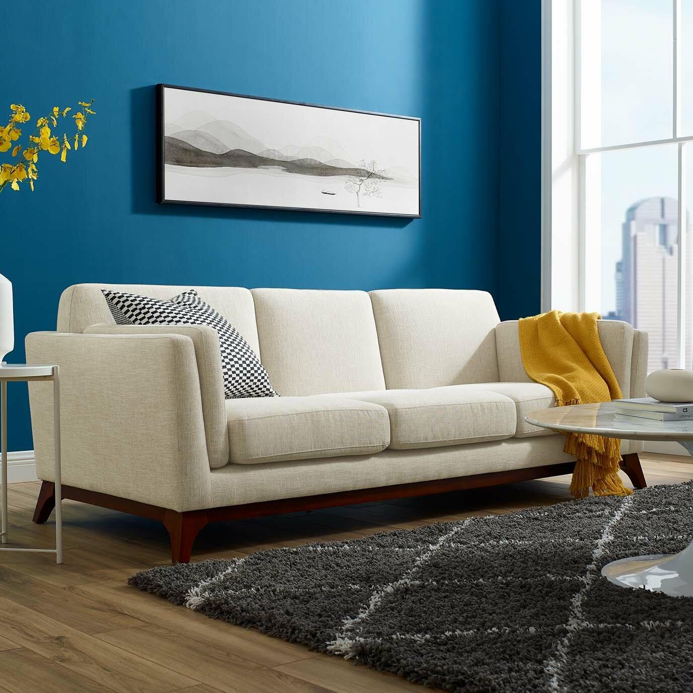 Downham 83 5 Square Arms Sofa