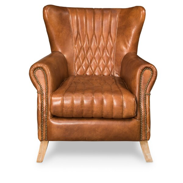 Bugatti Wingback Chair by Sarreid Ltd