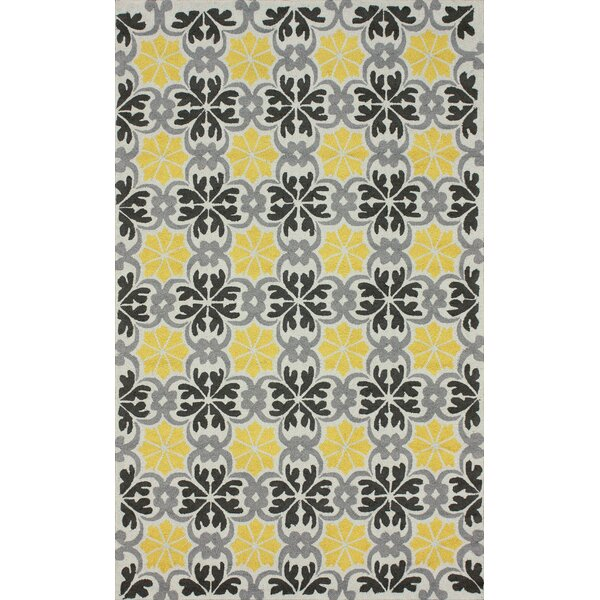 Fergie Hand-Tufted Yellow Area Rug by nuLOOM