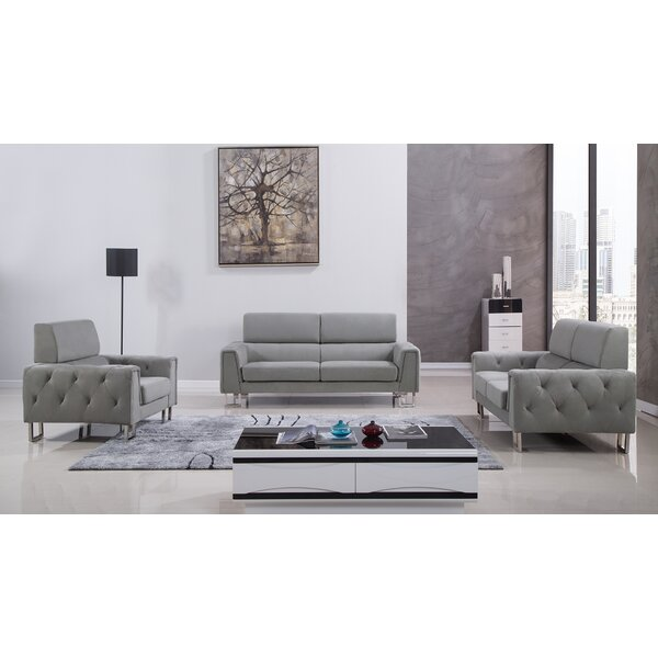 Hayden 3 Piece Living Room Set by American Eagle International Trading Inc.