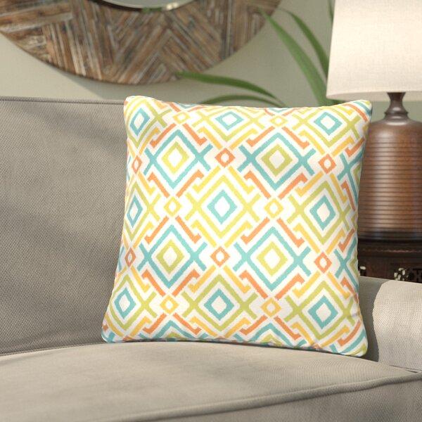 Terneuzen Indoor/Outdoor Throw Pillow (Set of 2) by Bungalow Rose