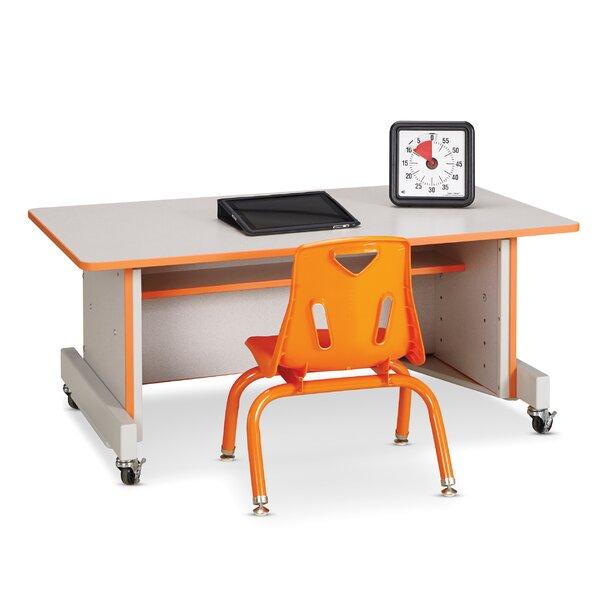 Apollo Wood Adjustable Height Student Computer Desk by Jonti-Craft