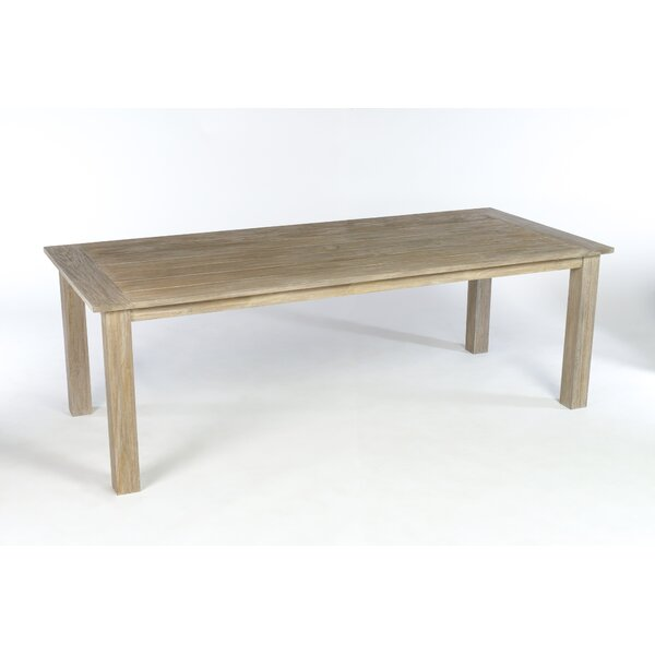 Earnest Dining Table by Rosecliff Heights