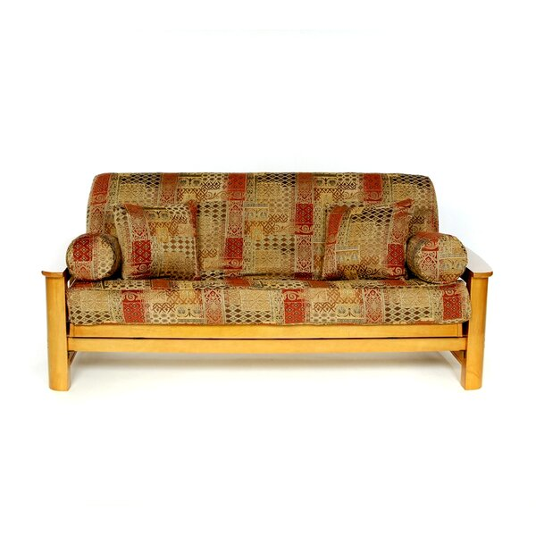 Renaissance Box Cushion Futon Slipcover by Lifestyle Covers