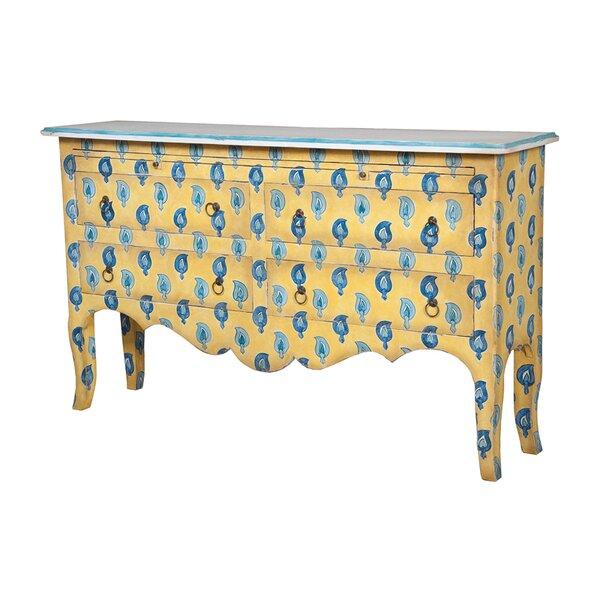 Boniface 4-Drawer Buffet Table