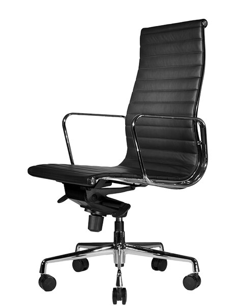 Reed High-Back Leather Executive Chair by Wobi Office