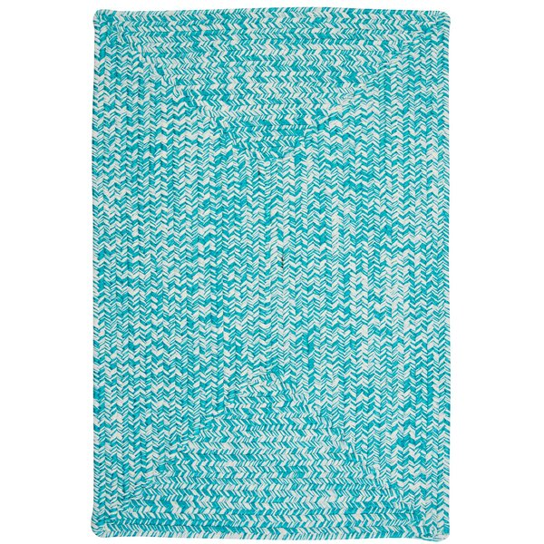 Hawkins Turquoise Indoor/Outdoor Area Rug by Winston Porter