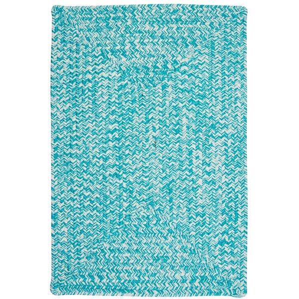 Hawkins Turquoise Indoor/Outdoor Area Rug by Winst