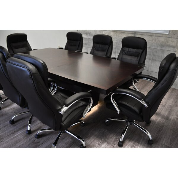 Flickinger Boat shaped 30.25H x 44W x 90L Conference Table by Orren Ellis