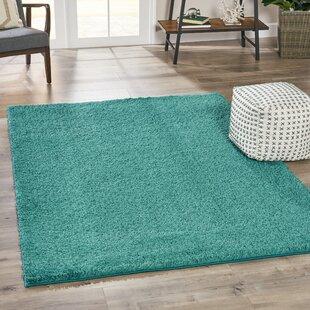 dark teal rug dark turquoise mohn geometric dark teal area rug wayfair