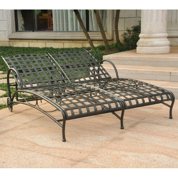 Eveland Double Reclining Chaise Lounger by Beachcrest Home Beachcrest Home