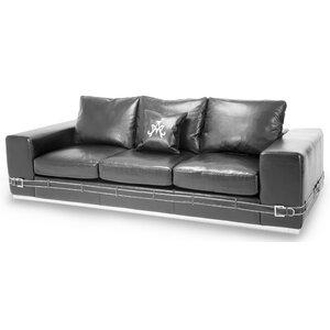 Mia Bella Ciras Leather Sofa Michael Amini (AICO)