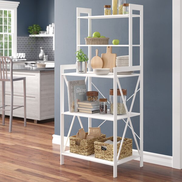 Worton Iron Baker's Rack by Latitude Run