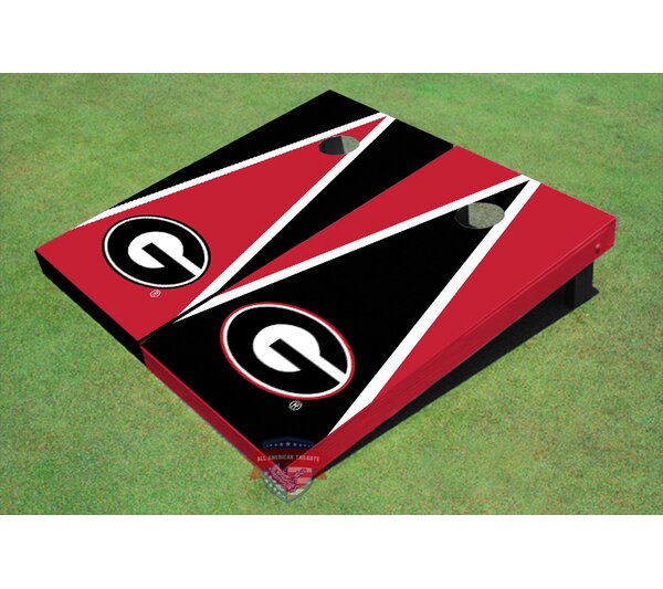 NCAA G Triangle Cornhole Board (Set of 2) by All American Tailgate