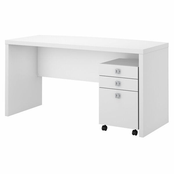 Echo 2 Piece Desk Office Suite by Kathy Ireland Office by Bush