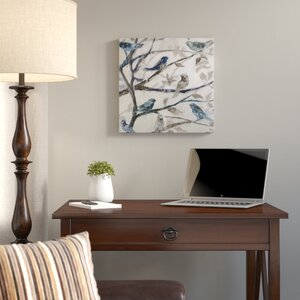 'Morning Song I' Oil Painting Print on Wrapped Canvas by Andover Mills
