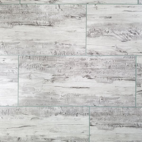Nature 7 x 16 Glass Subway Tile in Gray by Abolos