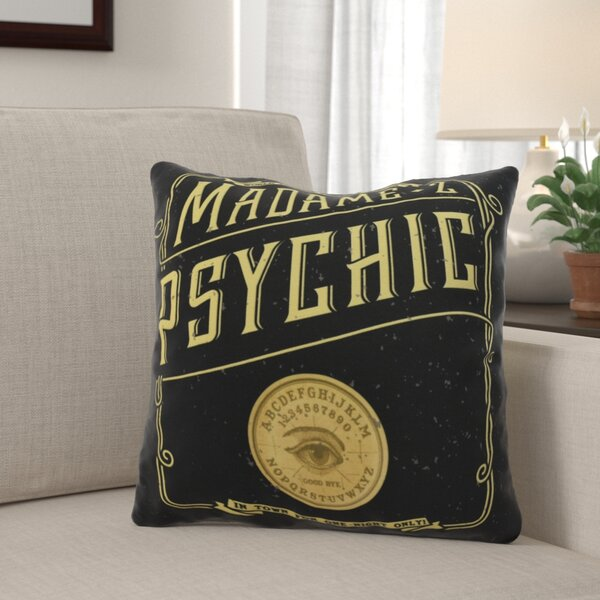 Maser the Psychic Eye Halloween Throw Pillow by The Holiday Aisle