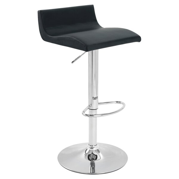 Adjustable Height Bar Stool by Creative Images InternationalAdjustable Height Bar Stool by Creative Images International