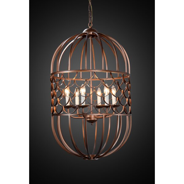 Thoreau 6-Light Lantern Pendant by Bloomsbury Market
