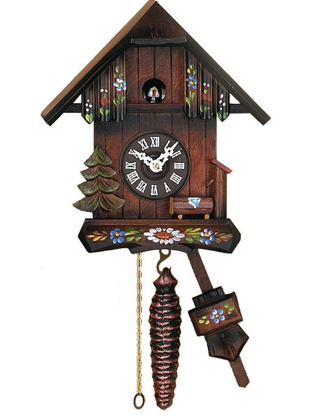 Cottage Quarter Call Cuckoo Wall Clock by River City Clocks