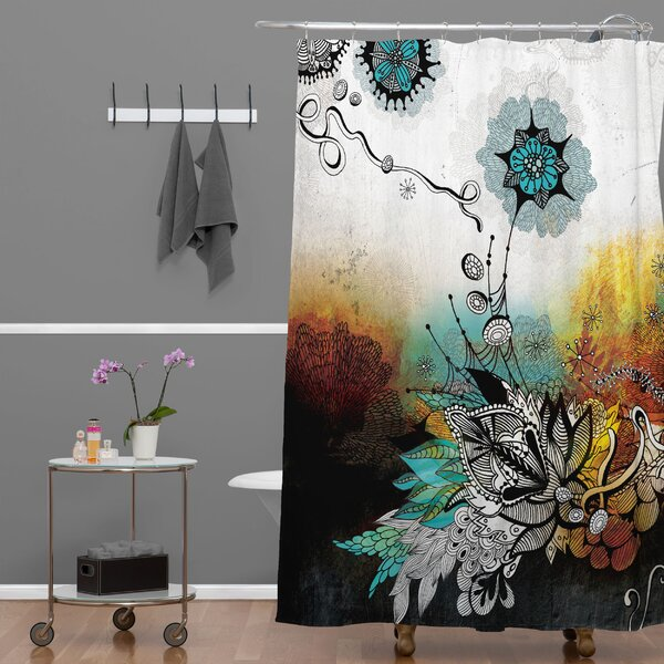 Herkimer Frozen Dreams Shower Curtain by Latitude Run
