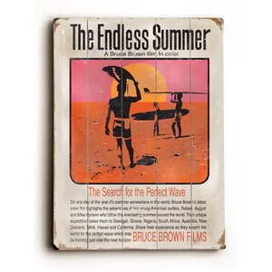 'Endless Summer Movie Poster' Vintage Advertisement by Artehouse LLC