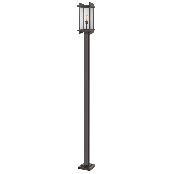 Beeching Outdoor 1-Light 117.88 Post Light by Ivy Bronx