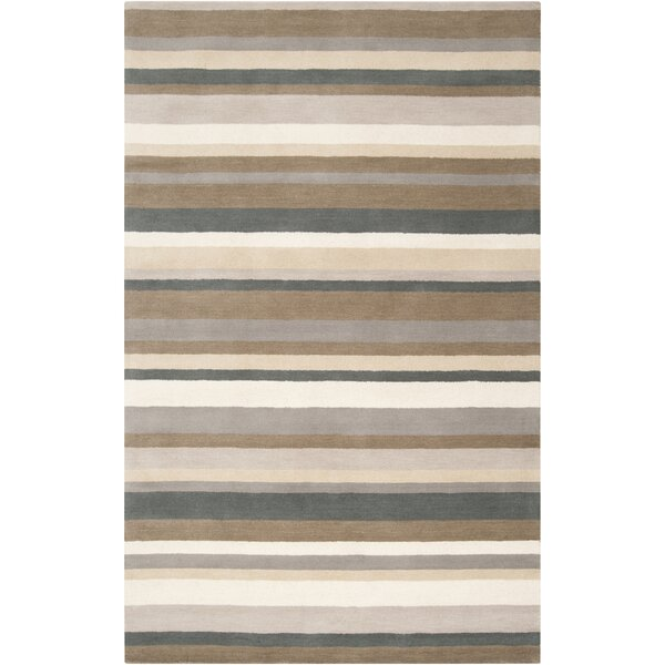 Madison Square Caper Green/Brown Area Rug by angelo:HOME