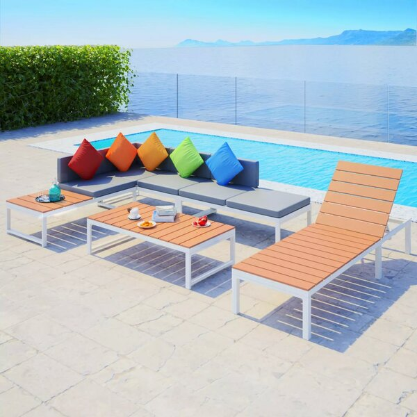 Tynemouth Garden 4 Piece Sectional Seating Group with Cushions by Ivy Bronx