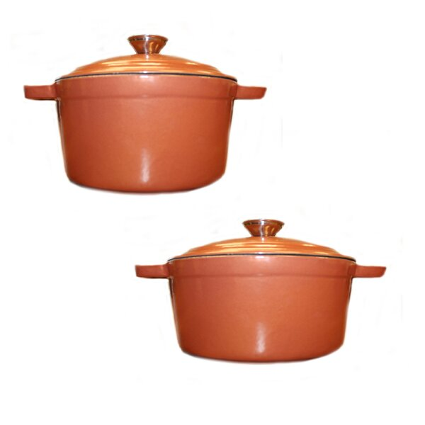 Neo 4 Piece Cast Iron Round Dutch Oven with Lid by BergHOFF International