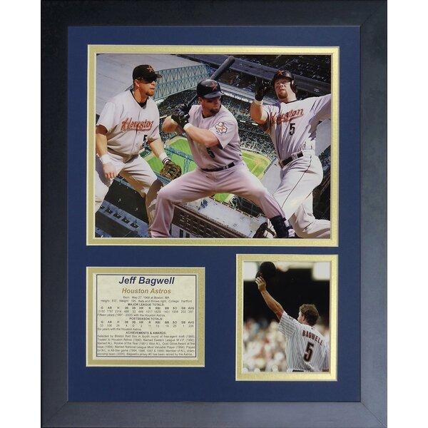 Jeff Bagwell Framed Memorabilia by Legends Never Die
