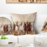 Landscape Horses Herd Pillow
