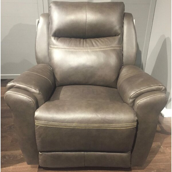 Leather Manual Recliner by Southern Motion Southern Motion