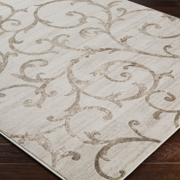 Alguno Beige Area Rug by House of Hampton