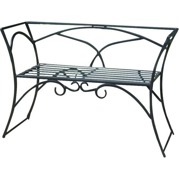 Arbor Wrought Iron Garden Bench by ACHLA
