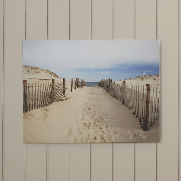 Boca Pointe Photographic Print on Wrapped Canvas by Beachcrest Home