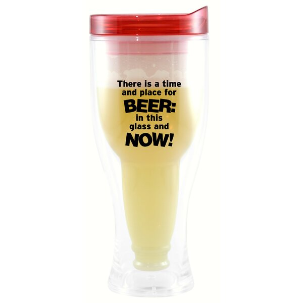 Bladon There is a Time & Place 10 oz. Beer Tumbler by Winston Porter