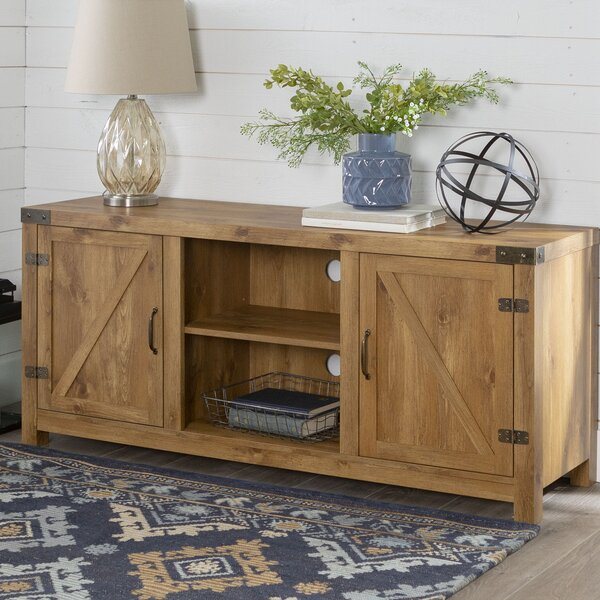 Review Adalberto TV Stand For TVs Up To 65