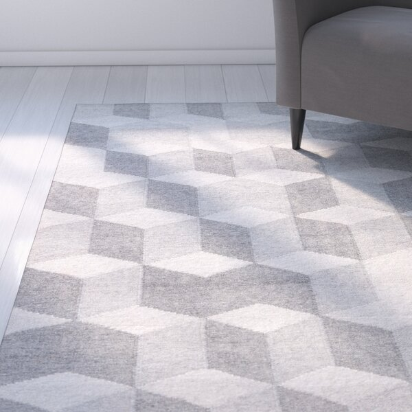 Samara Gray Indoor/Outdoor Area Rug by Zipcode Design