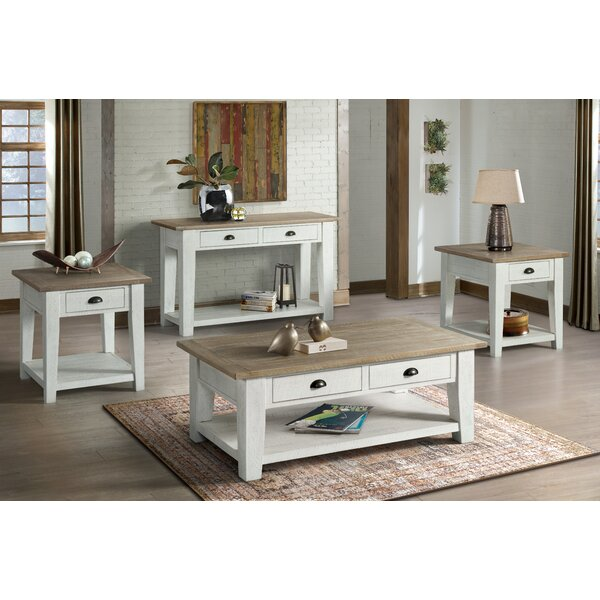 Blaris 4 Piece Coffee Table Set by Rosecliff Heights Rosecliff Heights
