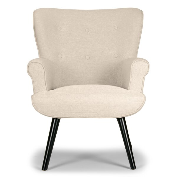 Corvallis Wingback Chair by Langley Street