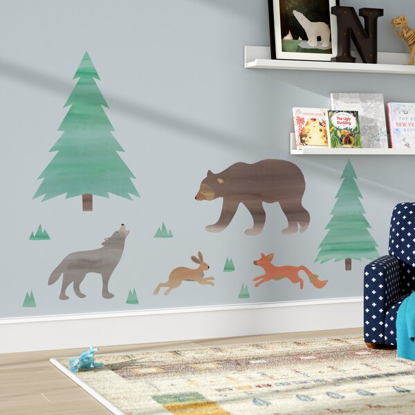 Dripping Springs Call of the Wild 12 Piece Wall Decal Set by Harriet Bee