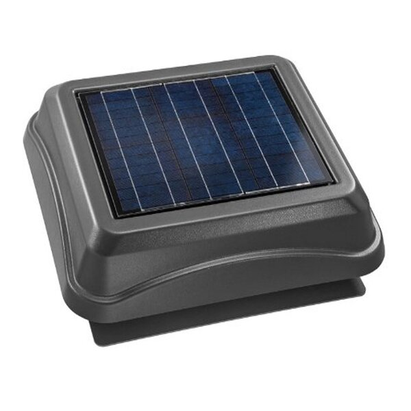 Surface Mount Solar Powered 537 CFM Attic Ventilator by Broan